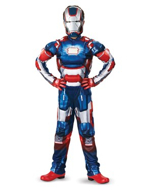 Iron Man 3 Patriot Classic Muscle Toddler / Child Costume