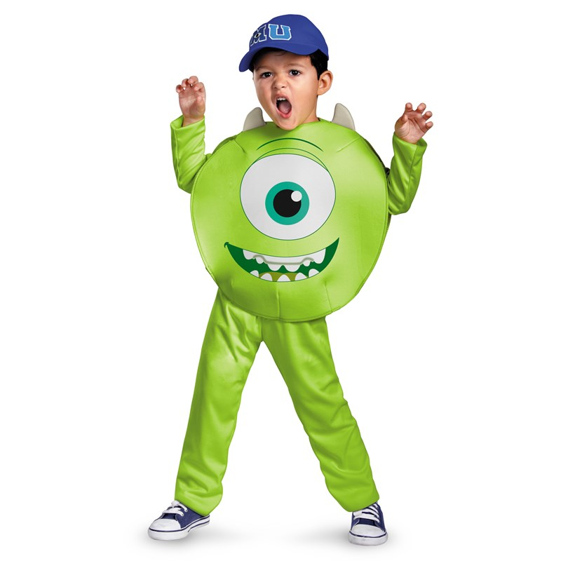 Monsters University Mike Classic Toddler  and  Child Costume for the 2015 Costume season.