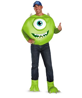 Monsters University Mike Deluxe Adult Costume
