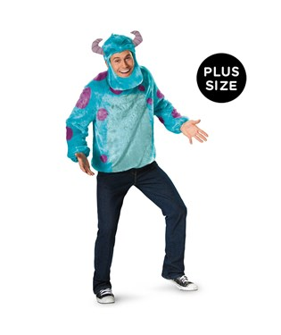Monsters University Sulley Deluxe Plus Adult Costume
