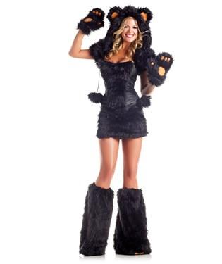 Black Bear Deluxe Adult Costume