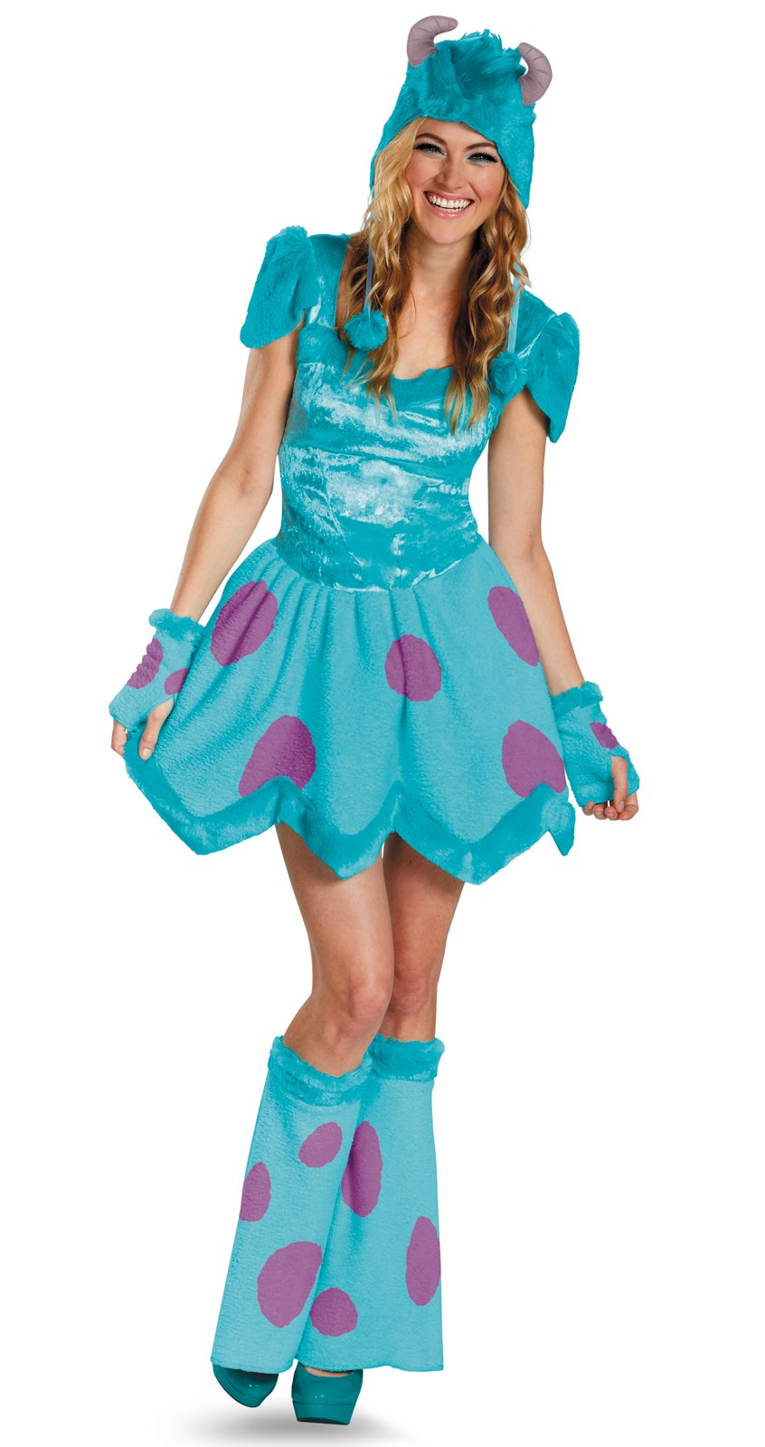 Image of Monsters University Sassy Sulley Adult Costume