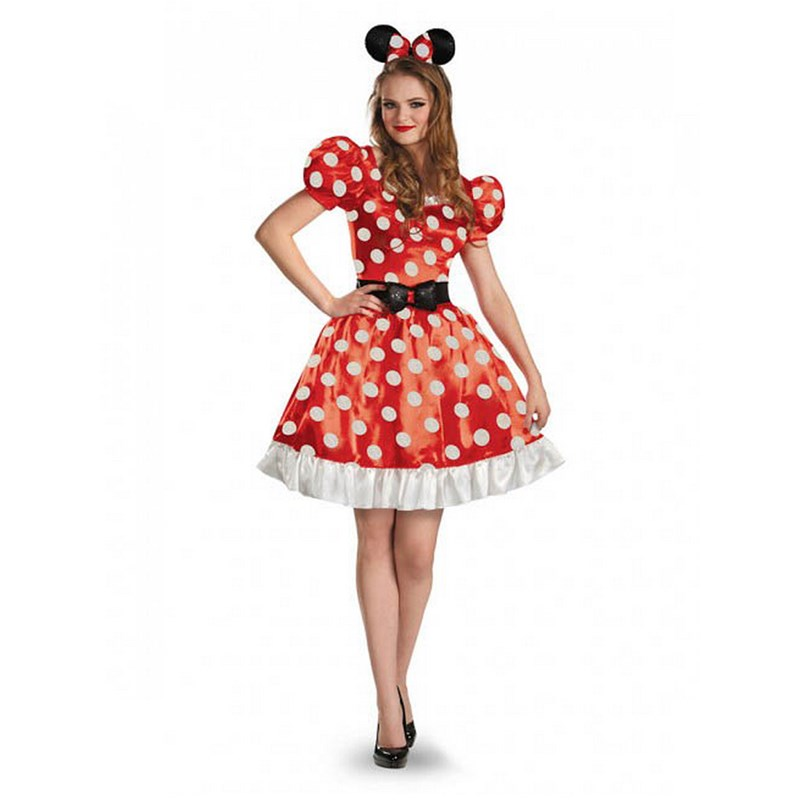 Minnie Mouse Classic Adult Costume for the 2015 Costume season.
