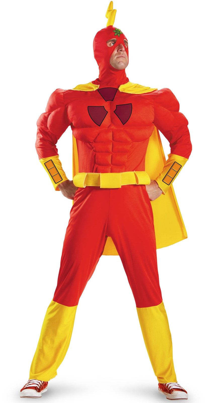 The Simpsons Radioactive Man Classic Muscle Adult Costume