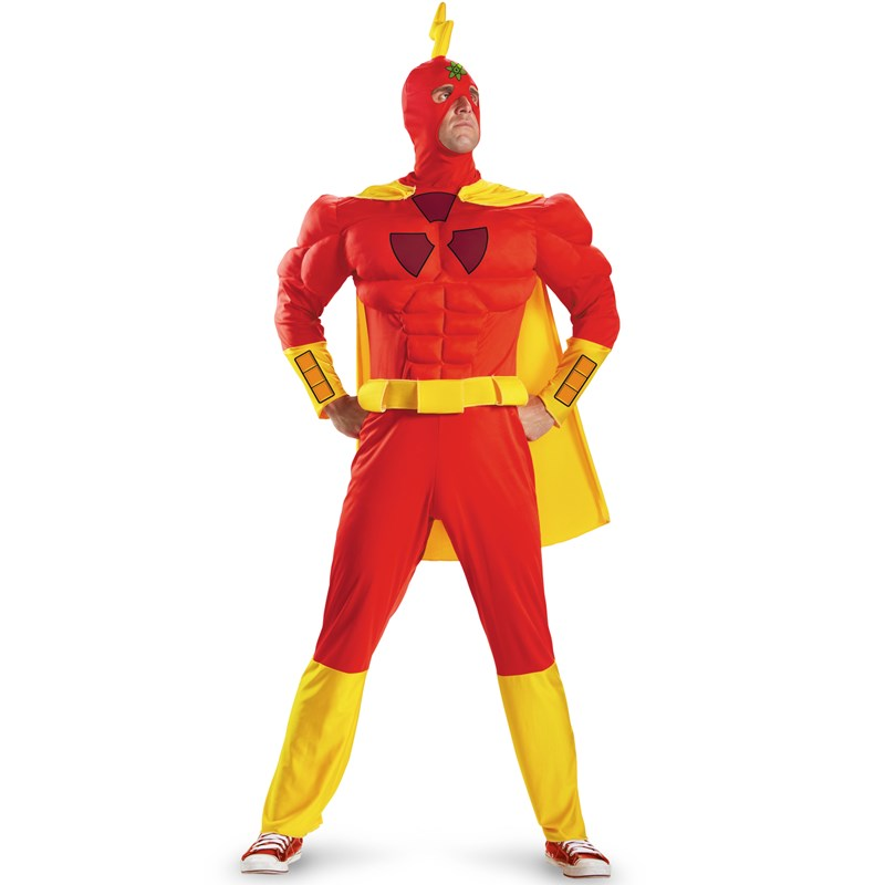 The Simpsons Radioactive Man Classic Muscle Adult Costume for the 2015 Costume season.