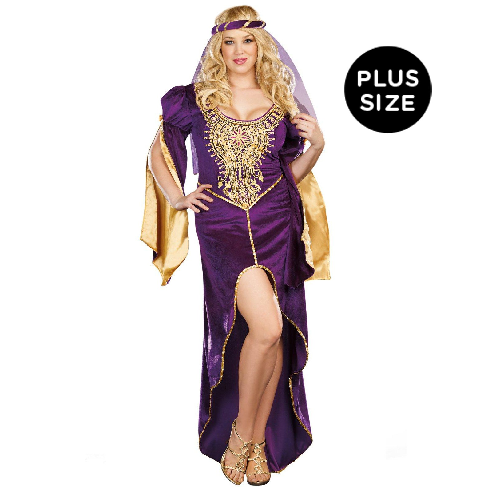 Queen of Thrones Adult Plus Costume