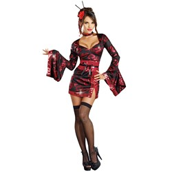 The Geisha with the Dragon Tattoo Adult Costume