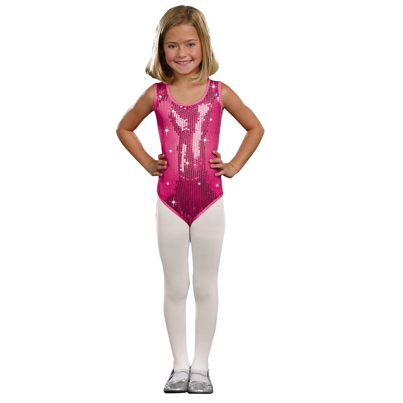 Kids Pink Sequin Leotard for the 2015 Costume season.