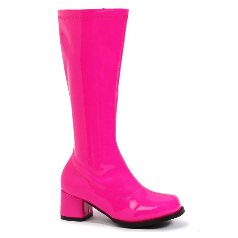 Kids Fuschia Gogo Boots for the 2015 Costume season.
