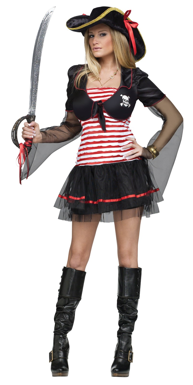 Image of Black Pearl Pirate Adult Costume
