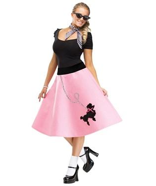 Adult Poodle Skirt