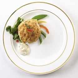 White Gold Glimmerware Dinner Plates (10 count)
