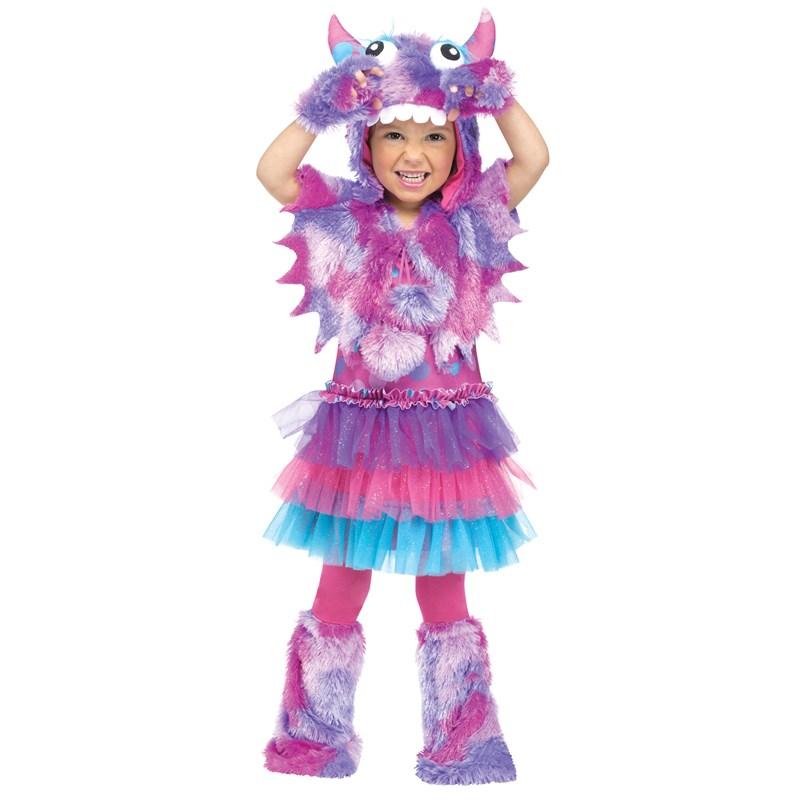 Polka Dot Monster Toddler Costume for the 2015 Costume season.