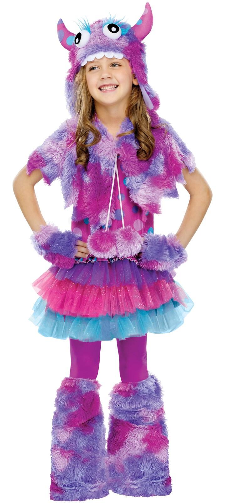 Polka Dot Monster Child Costume