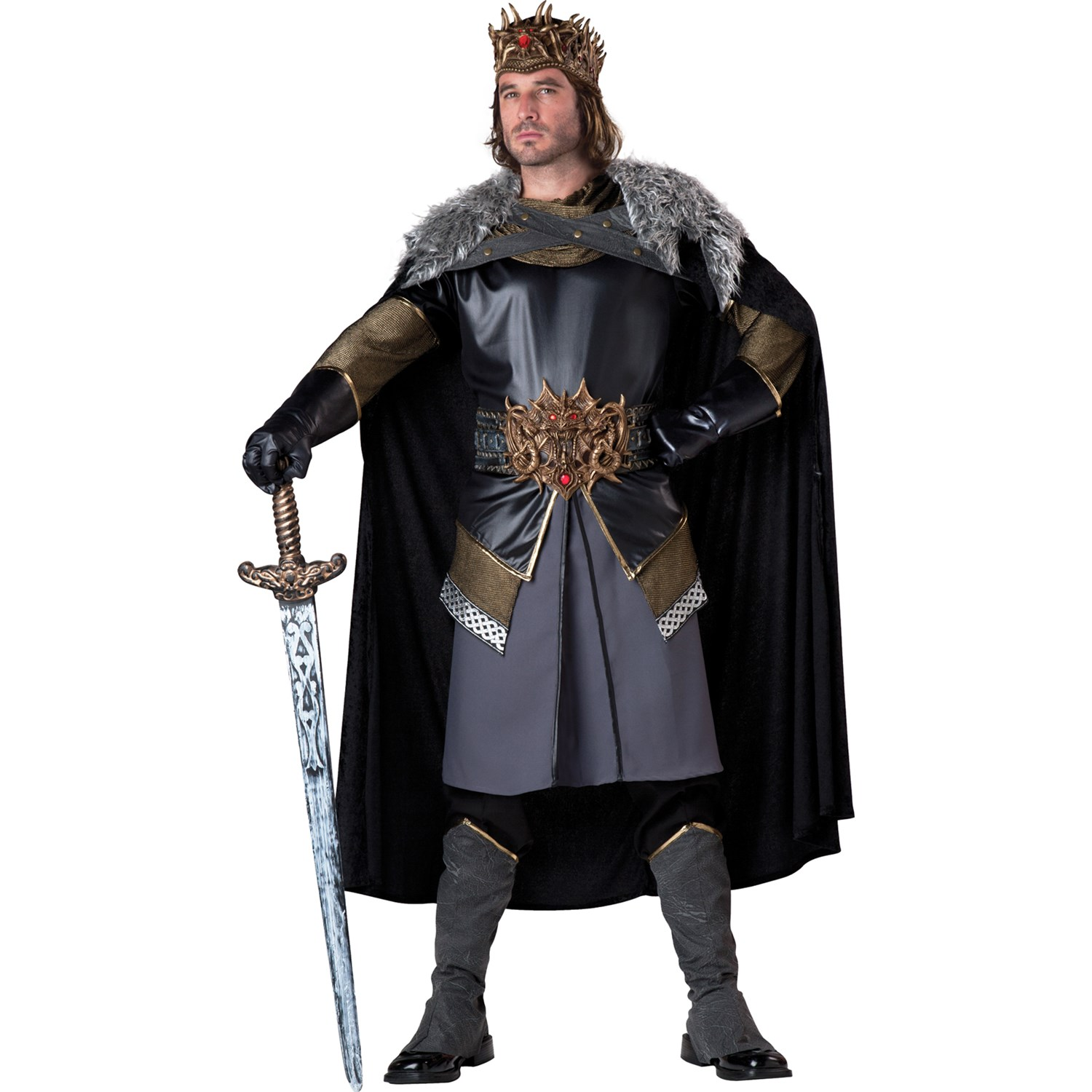 Medieval King Adult Costume | BuyCostumes.com