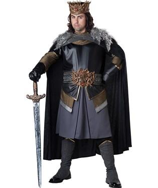 Medieval King Adult Plus Costume