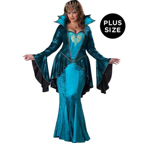 Medieval Queen Adult Plus Costume