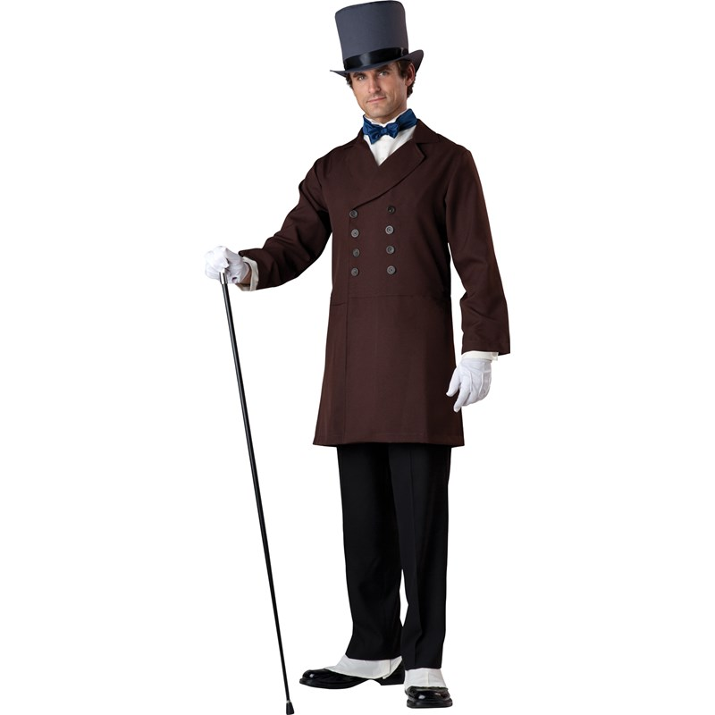 Victorian Gentleman Adult Costume for the 2015 Costume season.