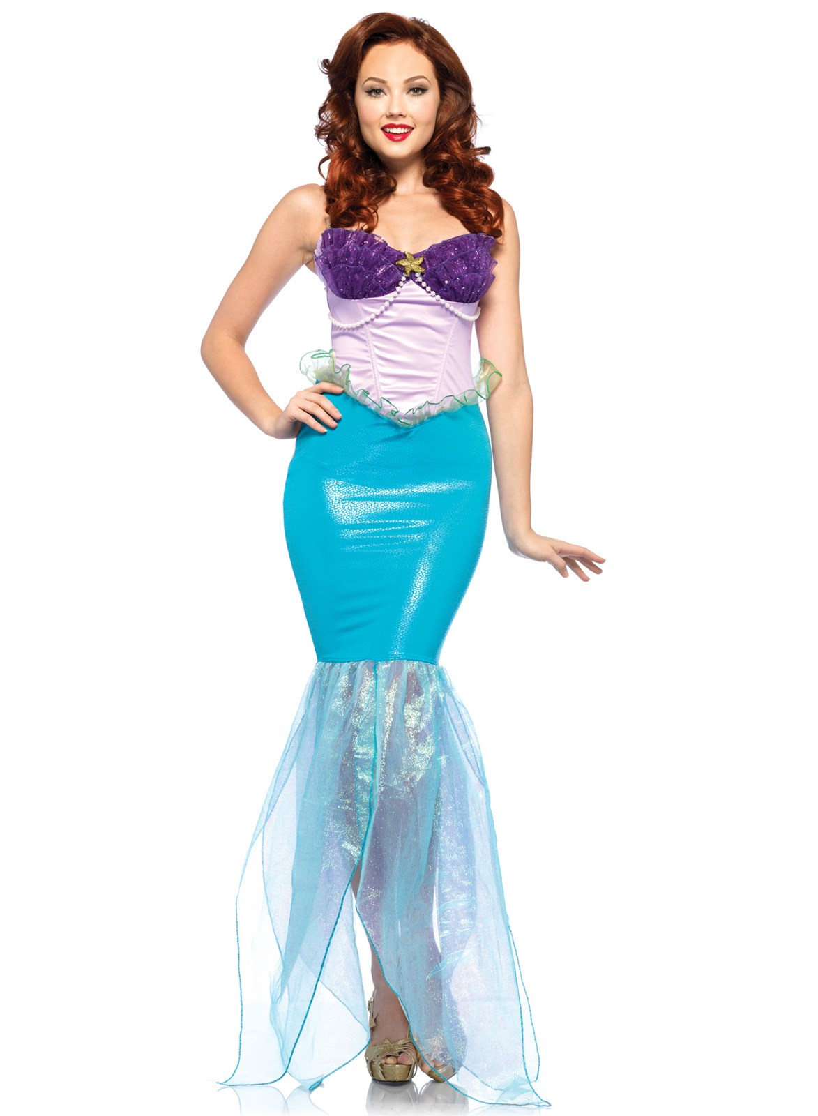Disney Princesses Undersea Ariel Adult Costume