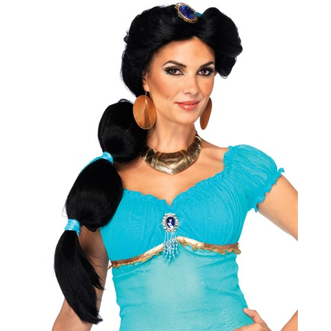 Disney Princesses Jasmine Adult Wig