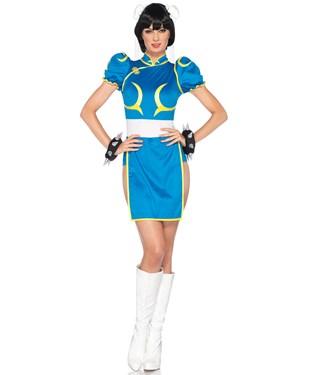 Street Fighter Chun-Li Adult Costume