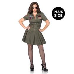 Top Gun Adult Plus Flight Dress