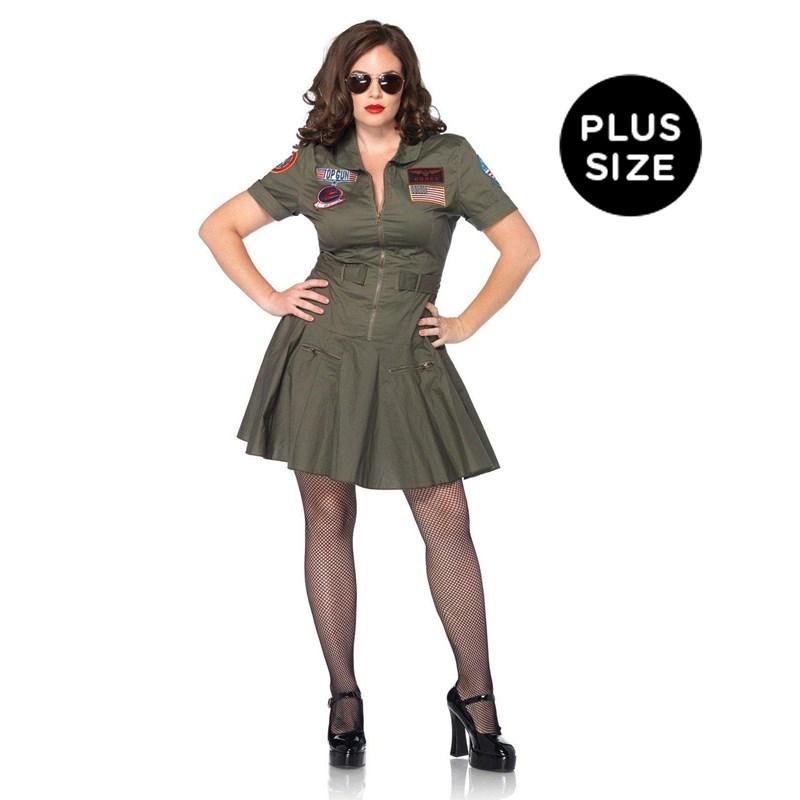Top Gun Adult Plus Flight Dress for the 2015 Costume season.
