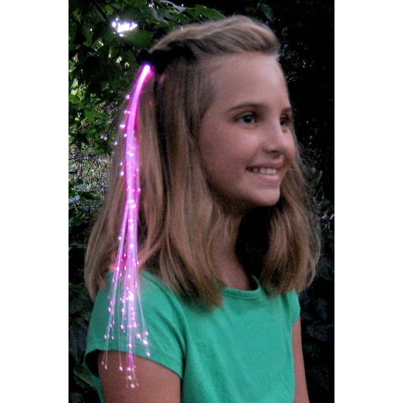 Pink Glowbys Hair Accessory for the 2015 Costume season.