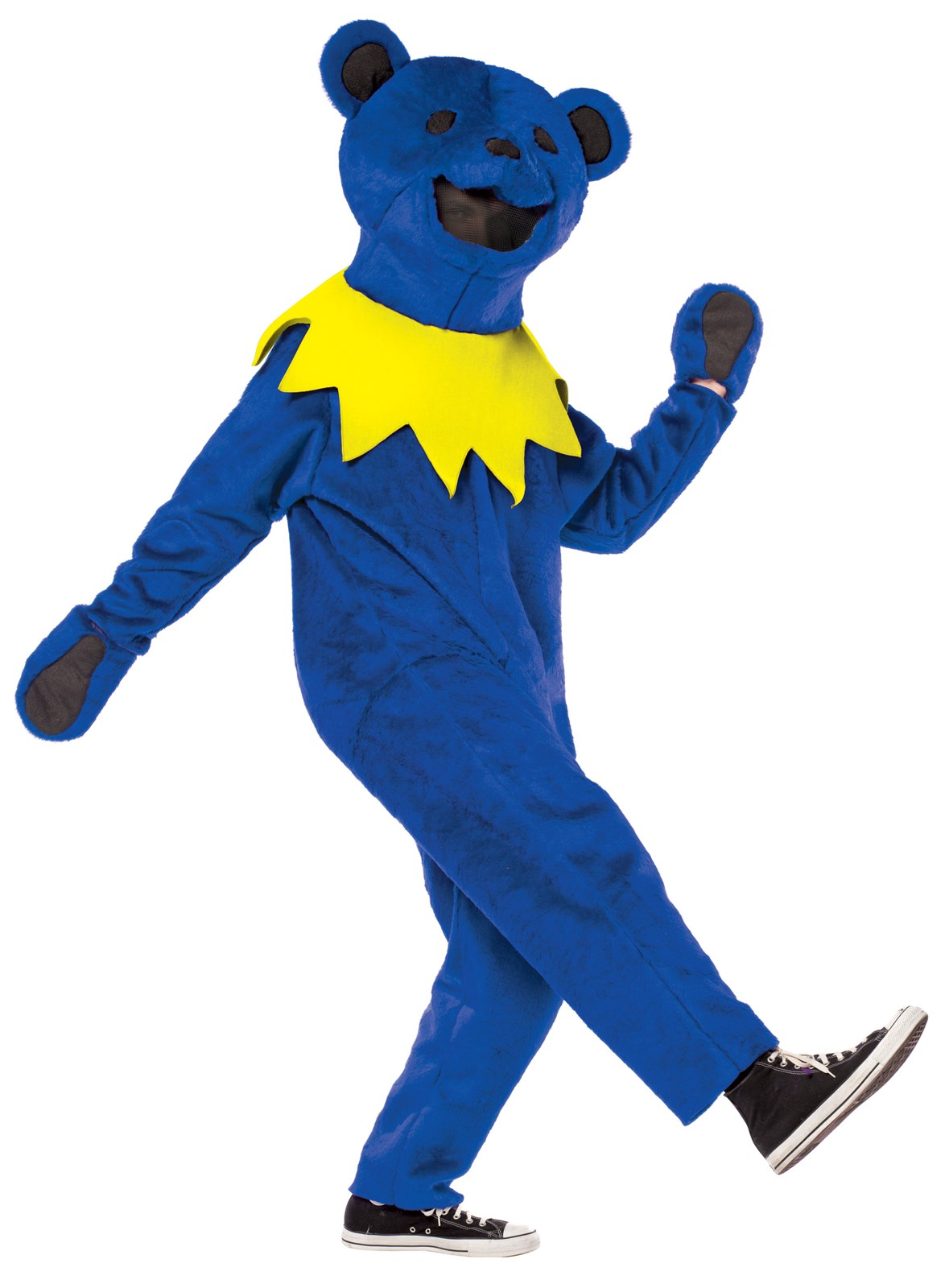Grateful Dead Blue Dancing Bear Deluxe Adult Costume