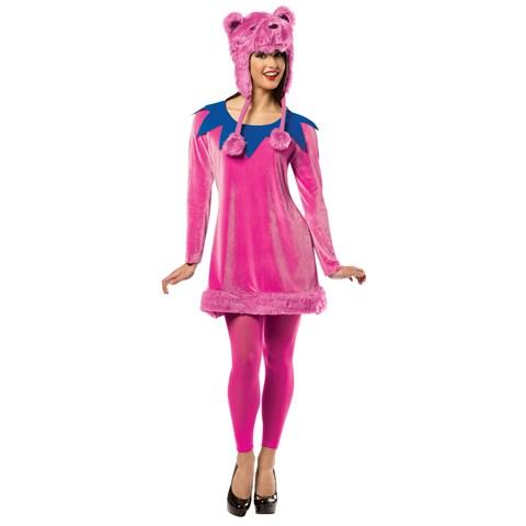 Grateful Dead Dancing Bear Adult Dress
