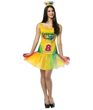 Crayola Crayon Box Adult Dress