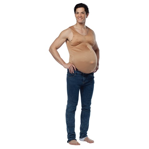 Pregnant Belly Adult Bodysuit