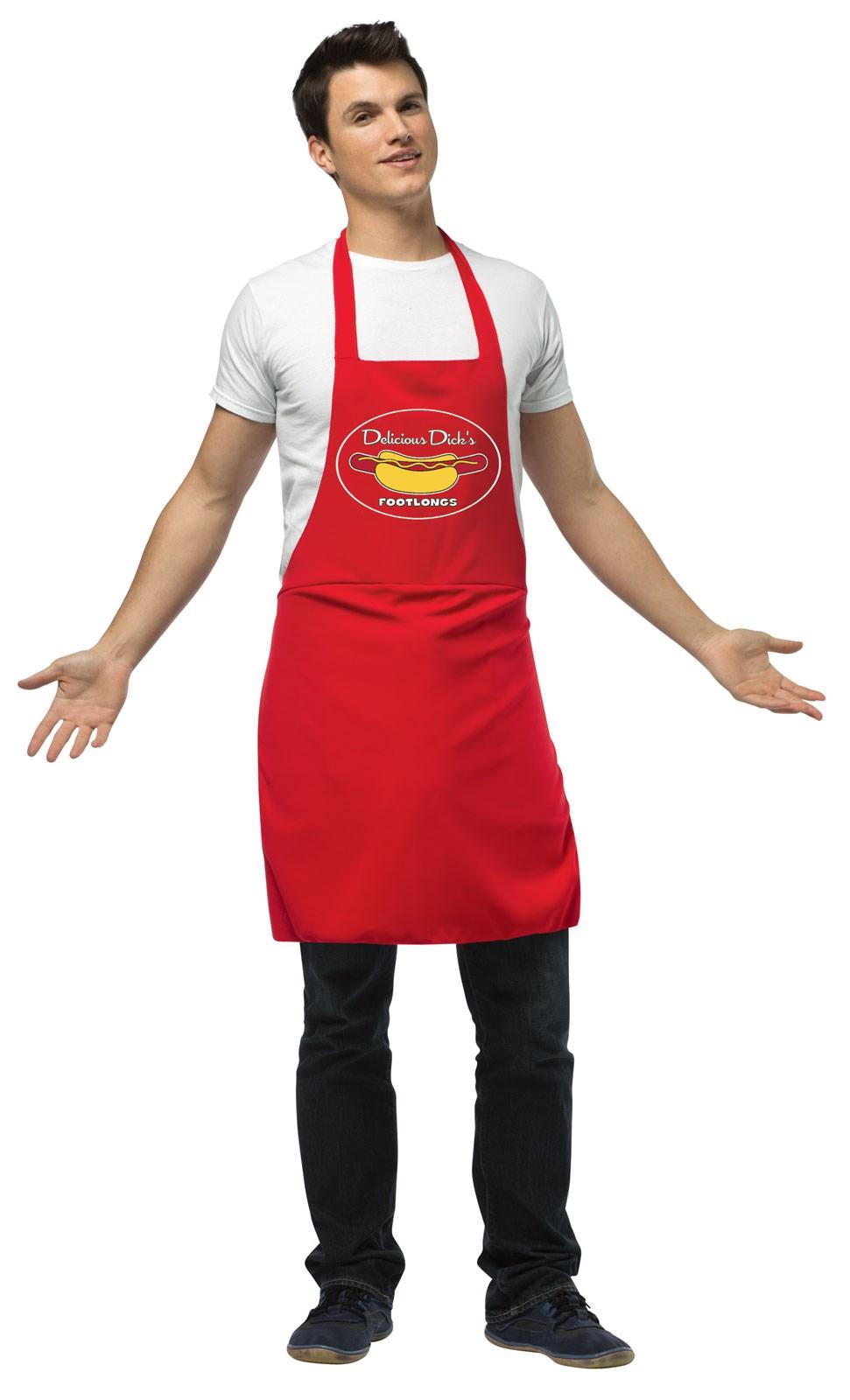 Image of Apron Hot Dog Vendor Adult Costume