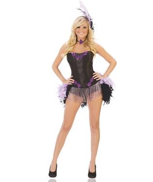 Burlesque Show Girl Adult Costume