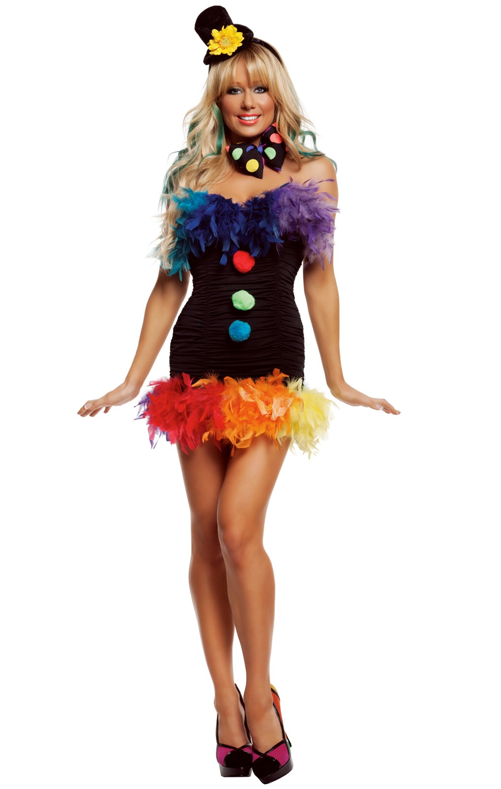 Clownin' Around Adult Costume
