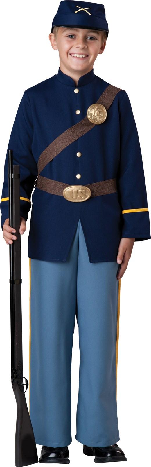 Image of Civil War Soldier Child Costume
