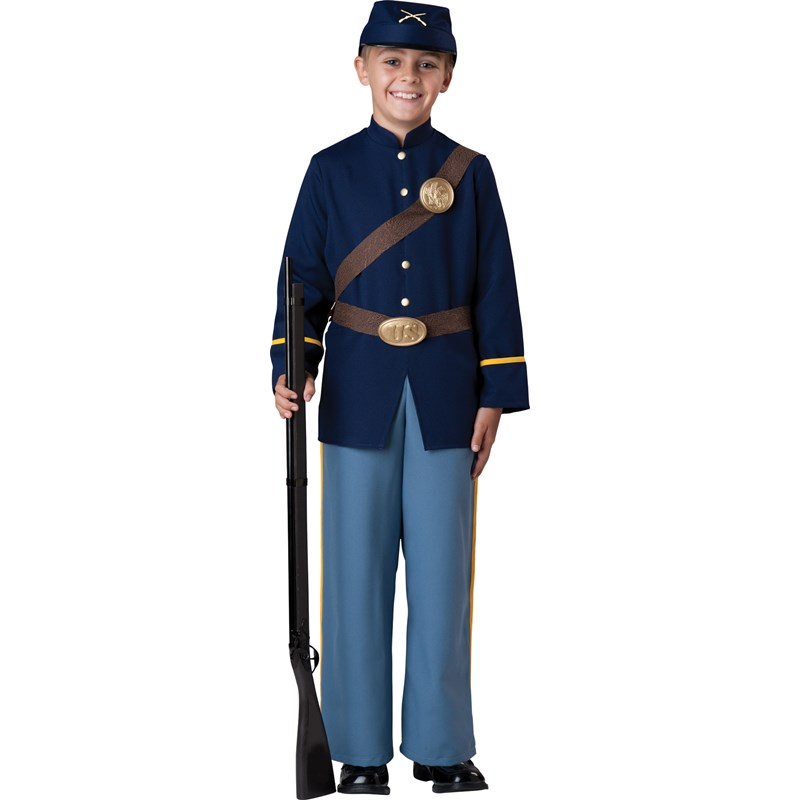 Civil War Soldier Child Costume for the 2015 Costume season.