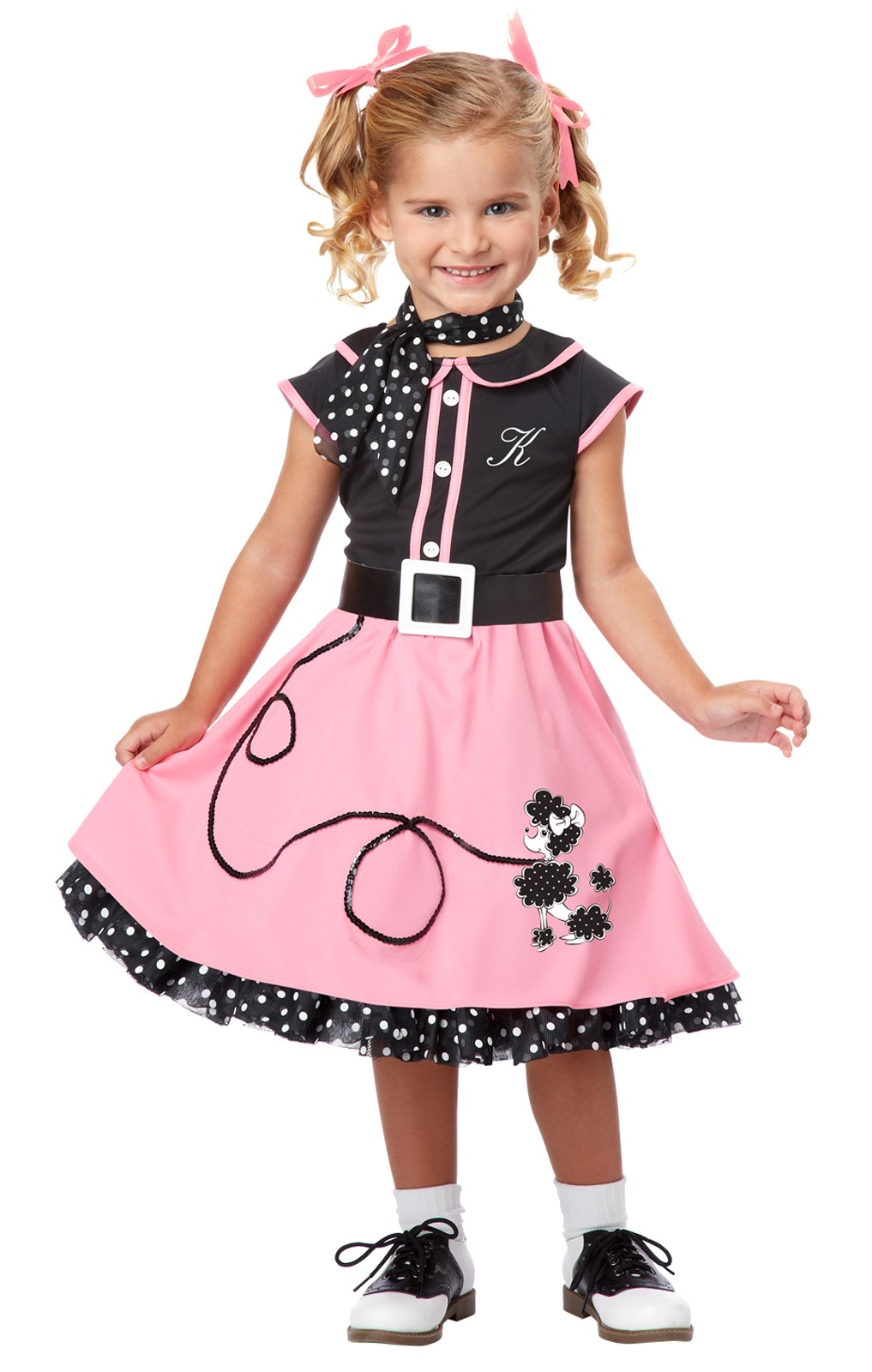 50's Poodle Cutie Toddler / Child Costume
