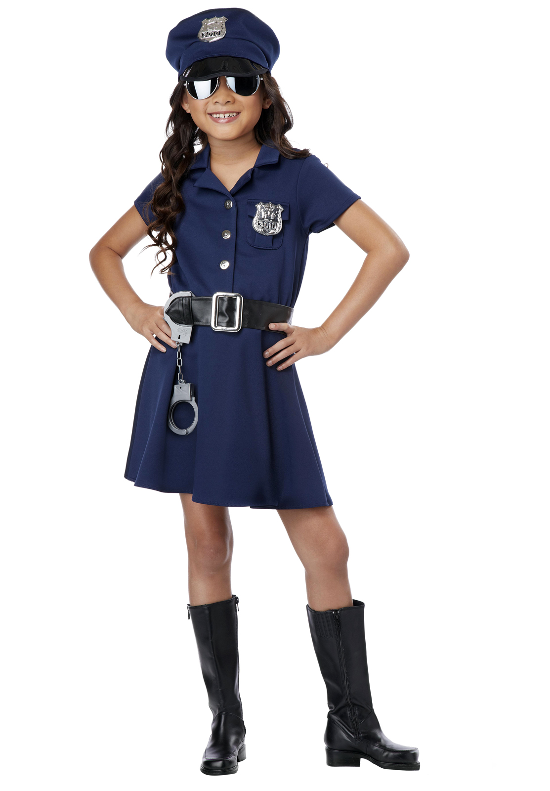 Future Trooper Toddler Costume Girl Police Officer Costume  sc 1 st  Meningrey & Toddler Girl Police Officer Costume - Meningrey