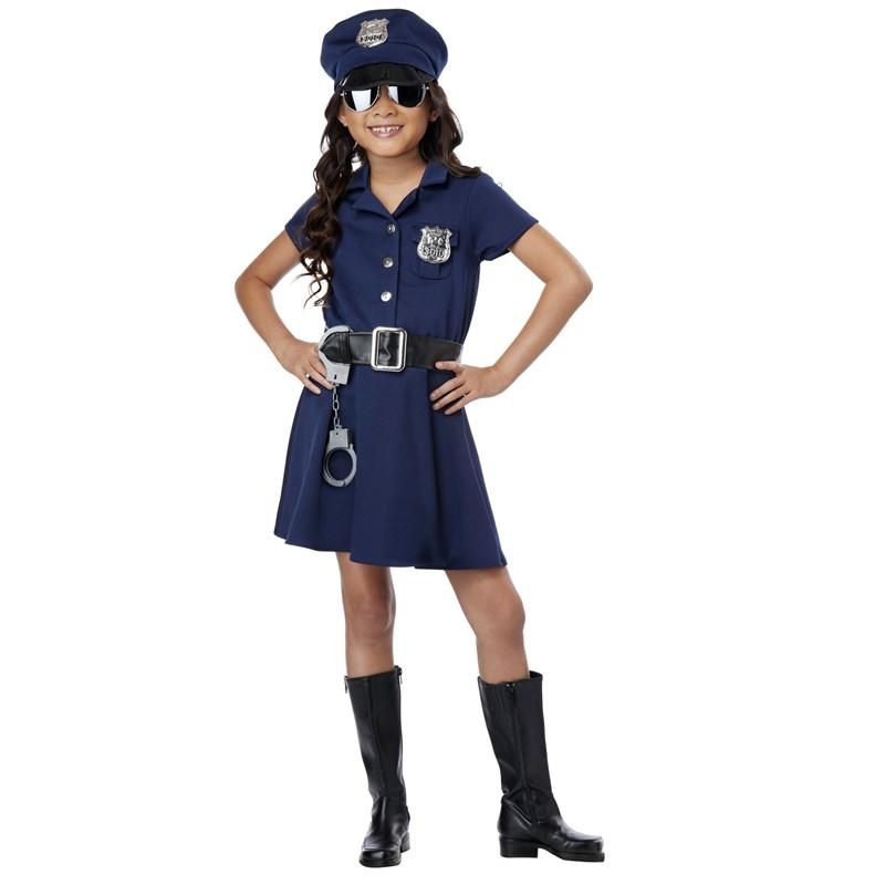 Girl Police Officer Costume for the 2015 Costume season.