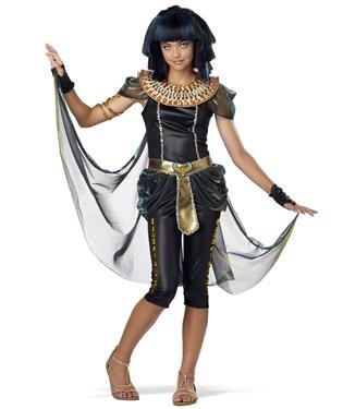 Dark Egyptian Princess Tween Costume