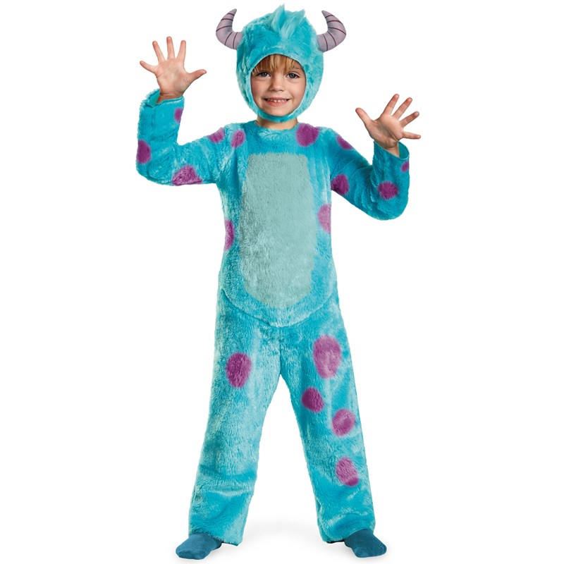Monsters University Sulley Deluxe Toddler  and  Child Costume for the 2015 Costume season.