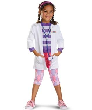 Doc McStuffins Deluxe Toddler / Child Costume