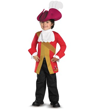 Disney Jake And The Neverland Pirates Captain Hook Toddler / Child Costume