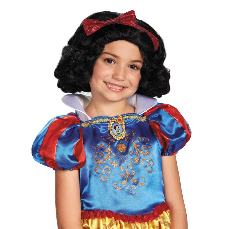 Disney Snow White Kids Wig for the 2014 Costume season.
