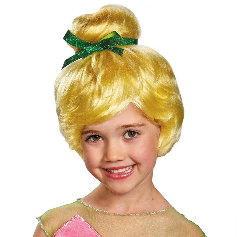 Disney Tinker Bell Kids Wig for the 2015 Costume season.