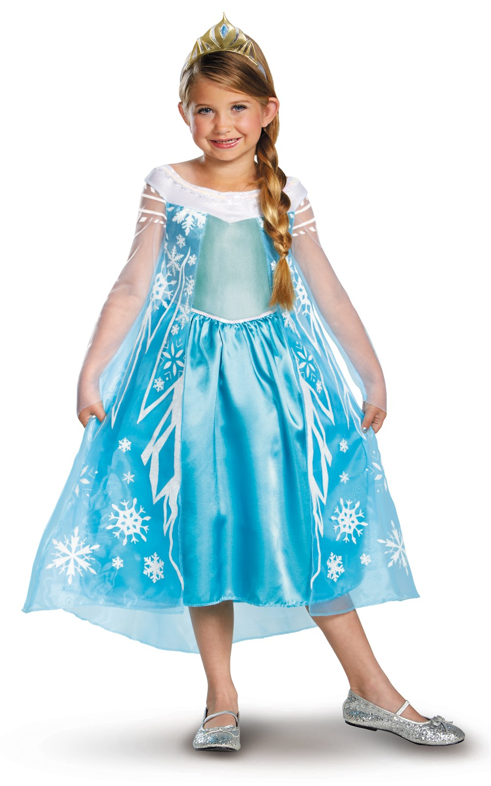 Disney Frozen Deluxe Elsa Toddler / Child Costume
