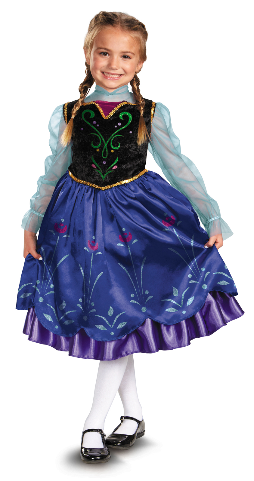 Disney Frozen Deluxe Anna Toddler / Child Costume