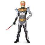 Robo Knight Power Ranger Megaforce Muscle Chest Child Costume