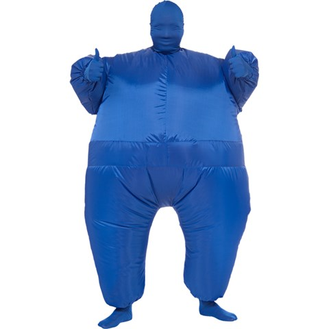 Blue Inflatable Adult Suit